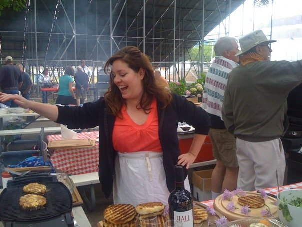 Hall Wines at BBQ Contest